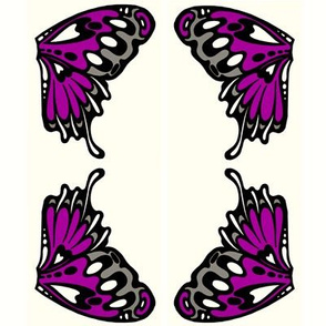 small purple wings