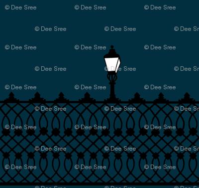 Film noir fence