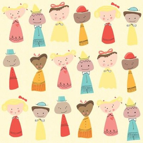 Little People from Around the World