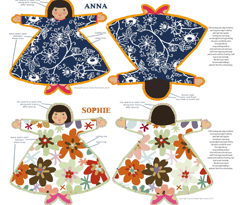 8_dolls_yard fabric by lfntextiles on Spoonflower - custom fabric