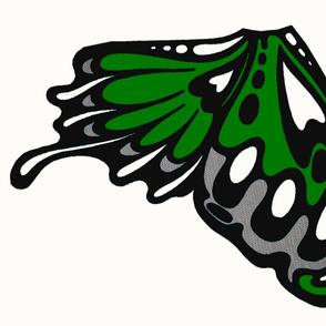 lt.green wing panels/appliques
