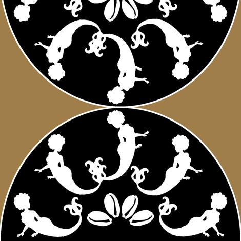 Mamajo baroque fabric by nalo_hopkinson on Spoonflower - custom fabric
