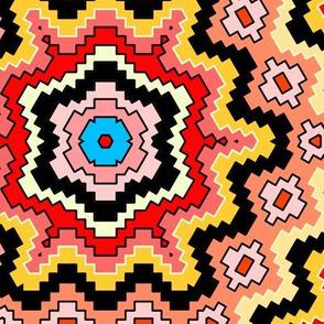 Desert Geometric Gila Monster