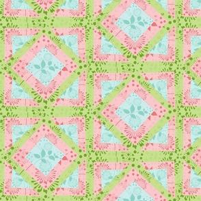 Island Quilt Squares Multi