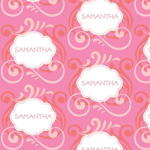 Island Wave Pink Personalized