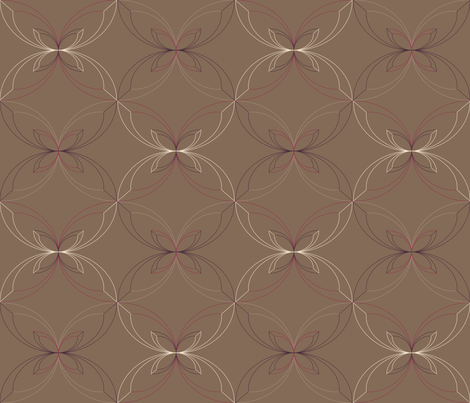 victorian ribbon fabric by erijoyjoy on Spoonflower - custom fabric