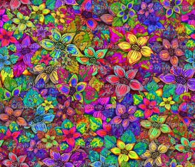 FLOWERS MISH MASH Large