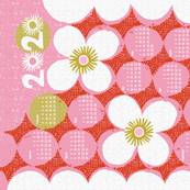 2020 dotty flowers tea towel calendar-27 inch