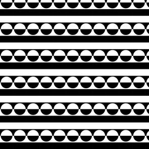 Black & White Optical Delusion 1