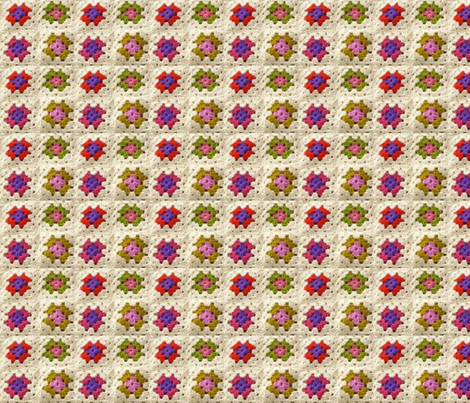 Granny style  fabric by shanstar on Spoonflower - custom fabric
