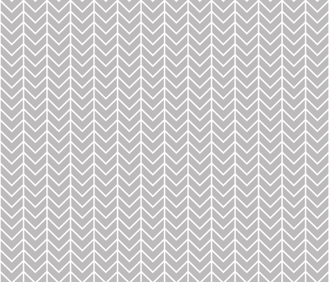 gray chevron fabric by ivieclothco on Spoonflower - custom fabric