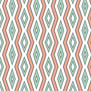 white_with_Mint___coral_lines_with_thickness_sample_b