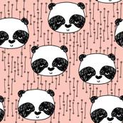 Panda - Pale Pink by Andrea Lauren
