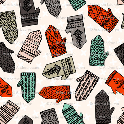 Ditsy Mittens Contest
