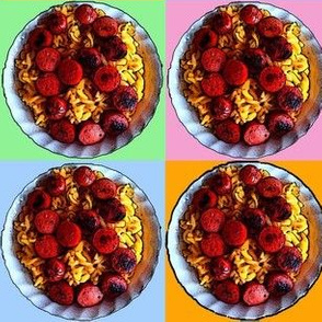 Mac n Cheeze with Cut-up Hot Dogs