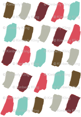 Holiday Paint Brush Colors