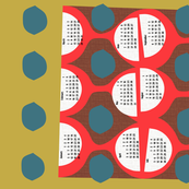 2020 retro tea towel calendar-27 inch
