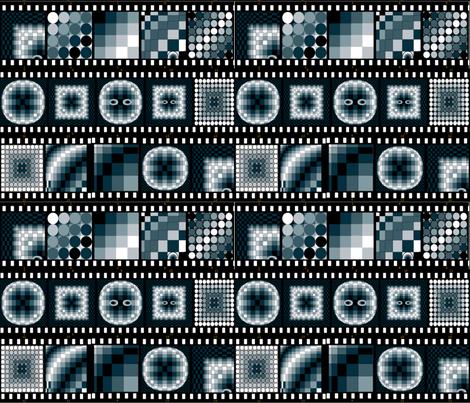 Cheaterquilt_film_noir fabric by ruthjohanna on Spoonflower - custom fabric