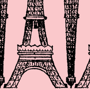 Paris ~ Eiffel For You ~ Black and Pink