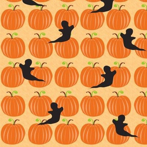 Paper Cut-out Pumpkin Patch #1