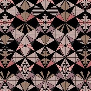 Kaleidoscope - Coral Lavender