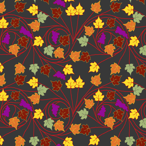 byzantine vineyard fabric by keweenawchris on Spoonflower - custom fabric