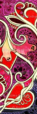 Batik Valentine Ghosts of Halloween