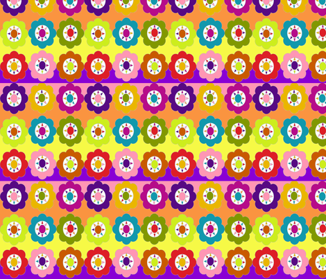 Flowerfull fabric by hdw_designs on Spoonflower - custom fabric