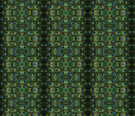peacock-feathers fabric by smil34u on Spoonflower - custom fabric