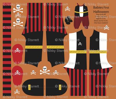Baby Pirate Costume 2013