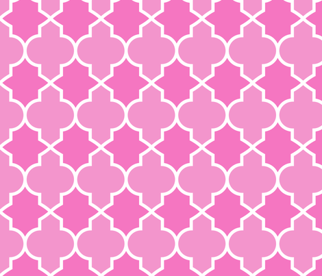 Princess Lattice fabric by stitchstapleglue on Spoonflower - custom fabric
