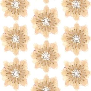 Flower Petal Composition: Pink Mandala