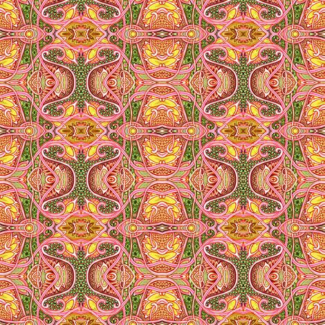 Rococo Autumn fabric by edsel2084 on Spoonflower - custom fabric