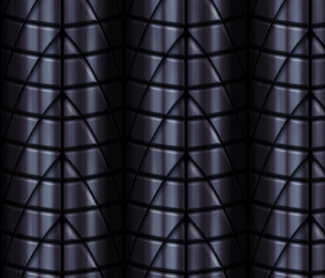 Superhero suits - Black fabric by bonnie_phantasm on Spoonflower - custom fabric