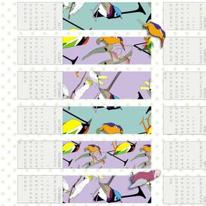 2014 Bird Type Calendar