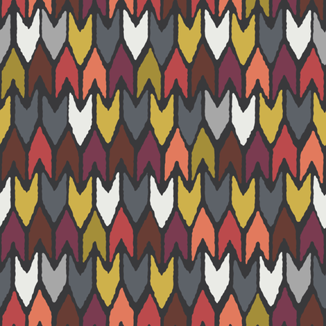 pewter pepper fabric by scrummy on Spoonflower - custom fabric