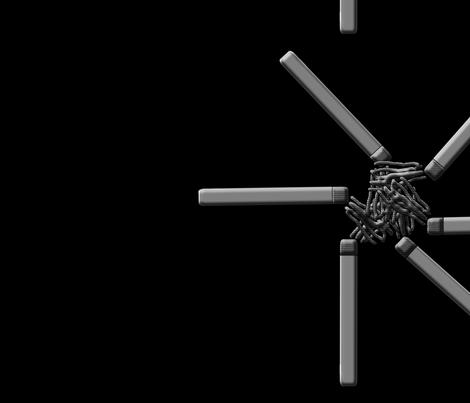 Film Noir fabric by 21035900 on Spoonflower - custom fabric