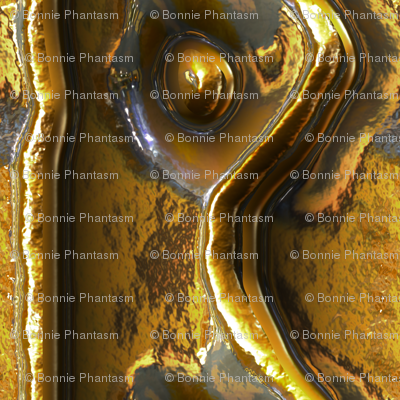 Riveted Metal - Brass