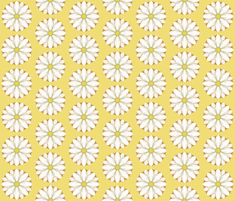 Summer Daisies fabric by anderson_designs on Spoonflower - custom fabric