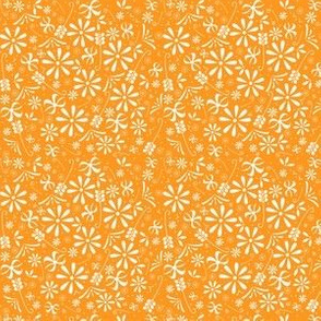 Spring Florals in Orange