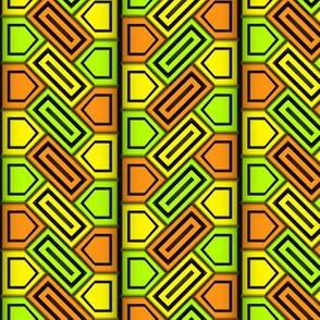 Penta Pattern Yellow