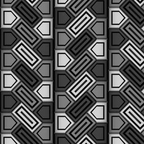 Penta Pattern Grey