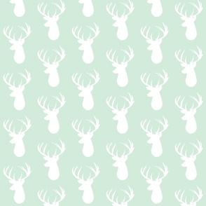 mint deer head