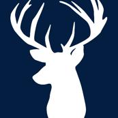 navy deer head