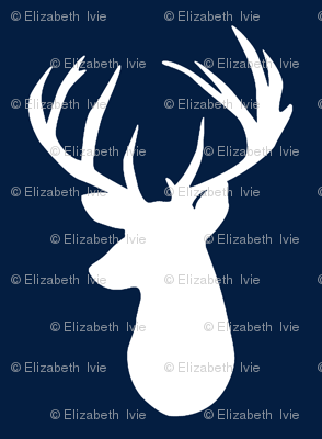 navy deer head