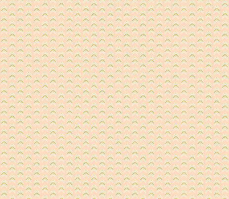 blush gold chevron small fabric by ivieclothco on Spoonflower - custom fabric