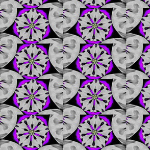 pattern purple flower