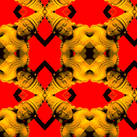 Goddess of Plenty or Plenty of Godess fabric by susaninparis on Spoonflower - custom fabric