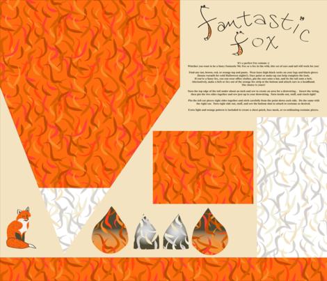Fancy Fantastic Fox fabric by dahbeedo on Spoonflower - custom fabric