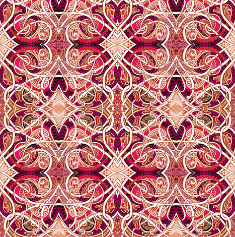 When Playing Cards Dream fabric by edsel2084 on Spoonflower - custom fabric